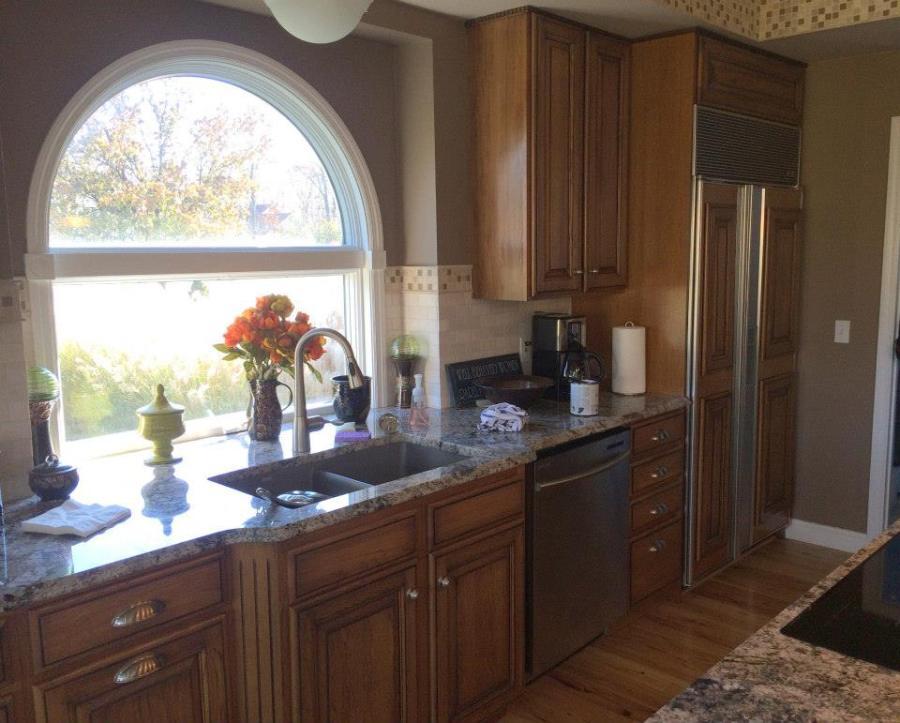 cabinet glazing