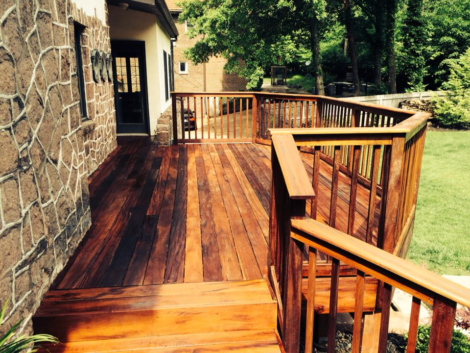 St Louis Deck And Fence Staining Carter Custom Painting
