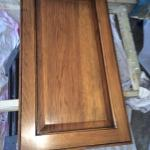 cabinet glazing over your old honey oak cabinets