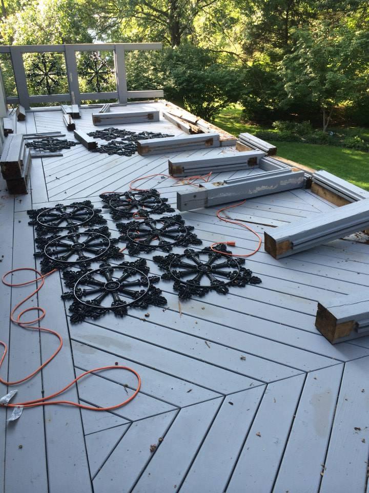 cedar deck repair