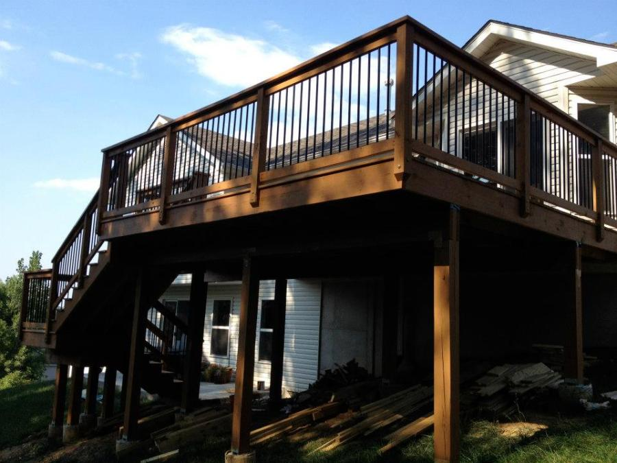 deck staining in the st. louis area
