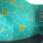 custom taped room