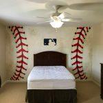 custom baseball mural
