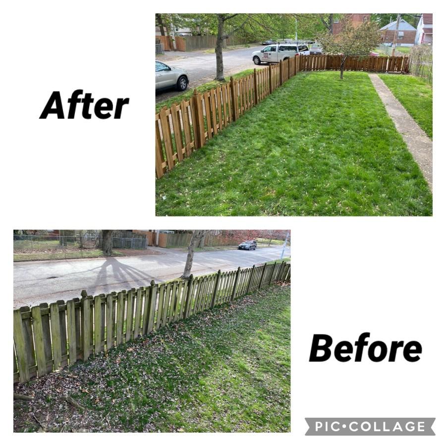 fence refinishing