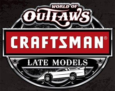 World of Outlaws Craftsman® Late Model Series to Visit Three States in Three Days