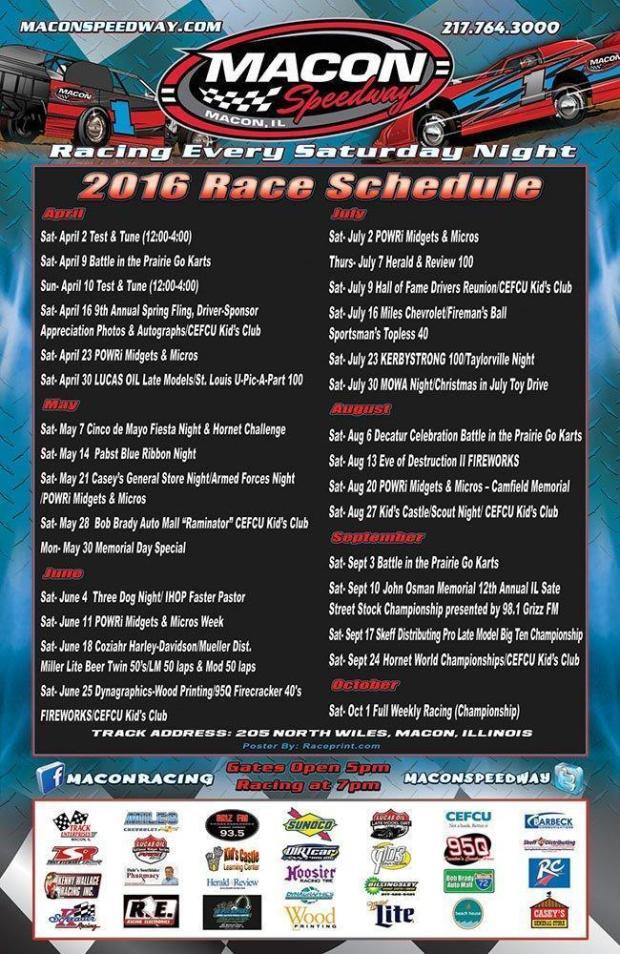 2016 Poster Race Print