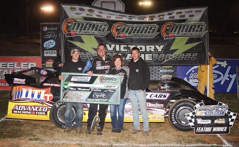 Chris Simpson takes MARS DIRTcar Series win at Springfield Raceway!