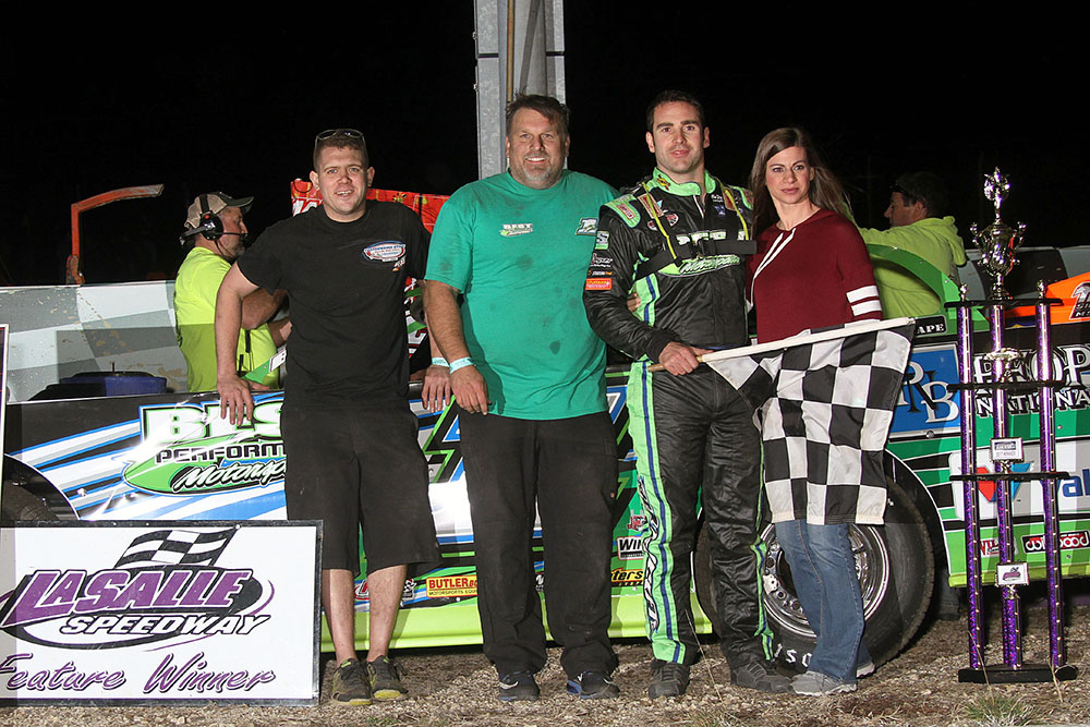 Josh Richards takes opening night Thaw Brawl win at La Salle Speedway!