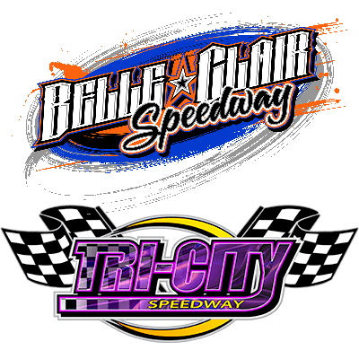 Heavy rain KO's Tri-City Speedway & Belle-Clair Speedway's Friday night action!