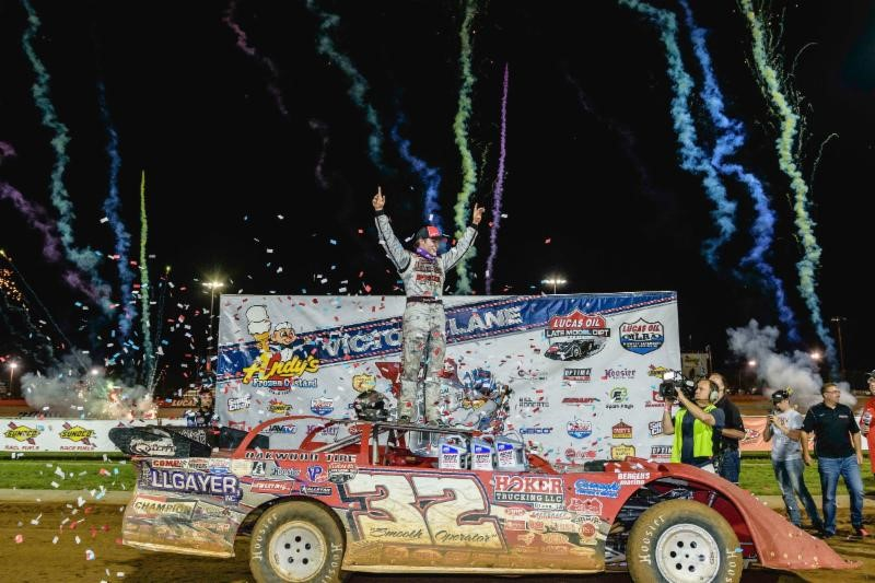 Pierce seizes command late to capture 25th annual Show-Me 100