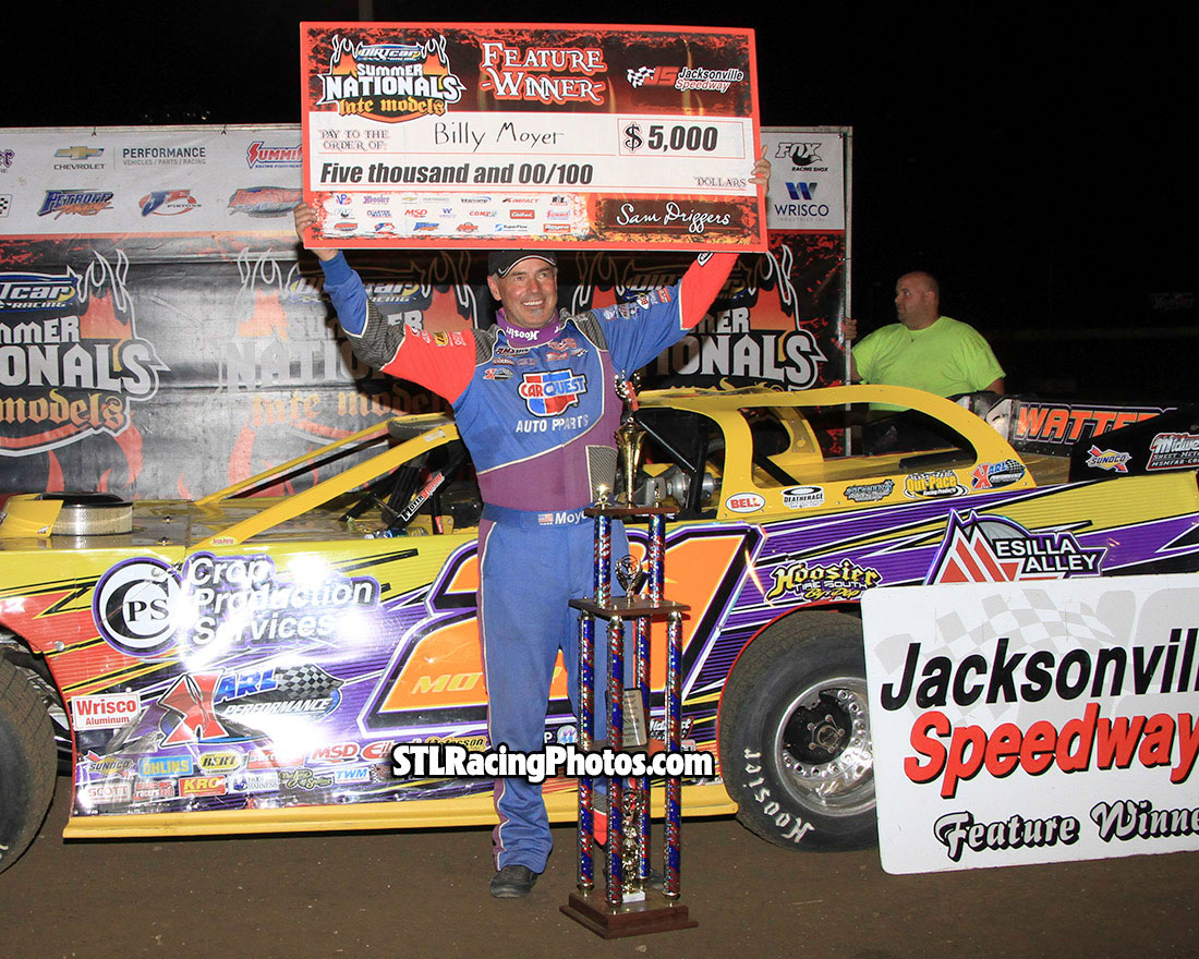 Billy Moyer captures Jacksonville UMP Summer Nationals win!