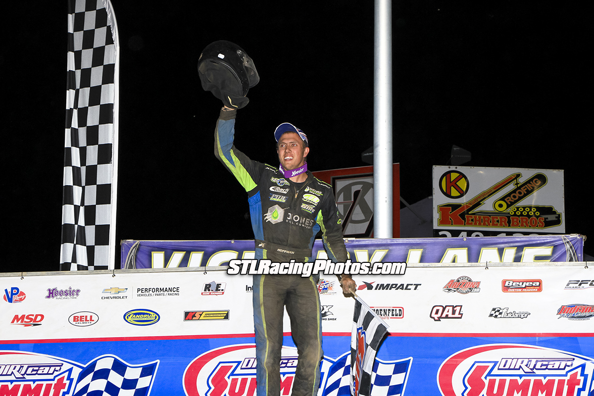 Nick Hoffman wins Summer Modified Nationals at Tri-City Speedway!