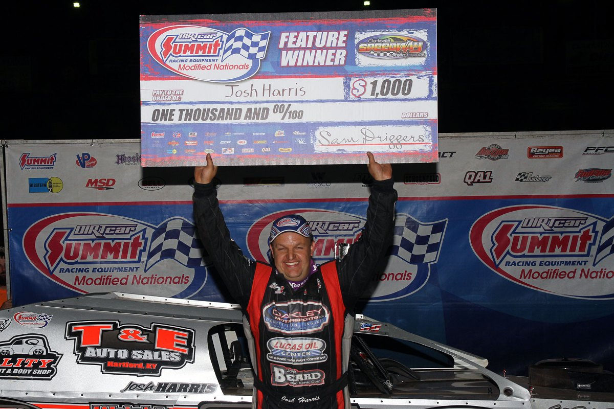 Josh Harris takes Clarksville Summit Modified Nationals win