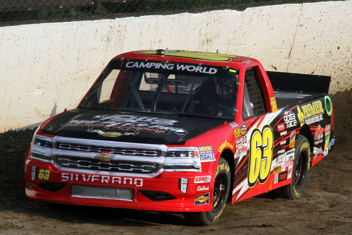 Photos from Eldora's NASCAR CAMPING WORLD TRUCK SERIES prelim - 7/18/17