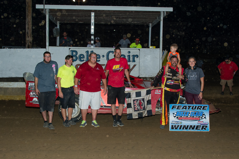 Belle-Clair Speedway Results - 8/18/17