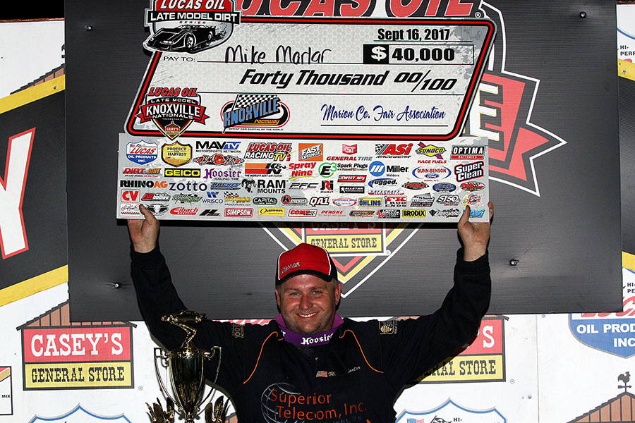 Marlar Makes History with Back-to-Back Knoxville Nationals Championships