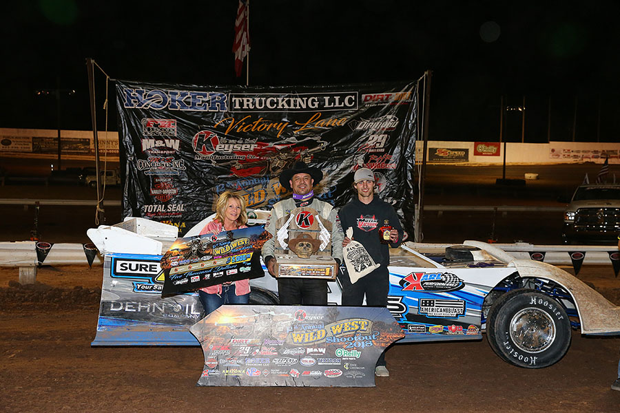 Don Shaw outduels Bobby Pierce for Wild West Shootout win!