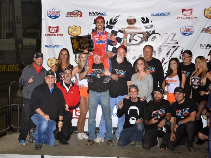 Rico Abreu Returns To Victory Lane With Hard Rock Casino Qualifying Night Triumph