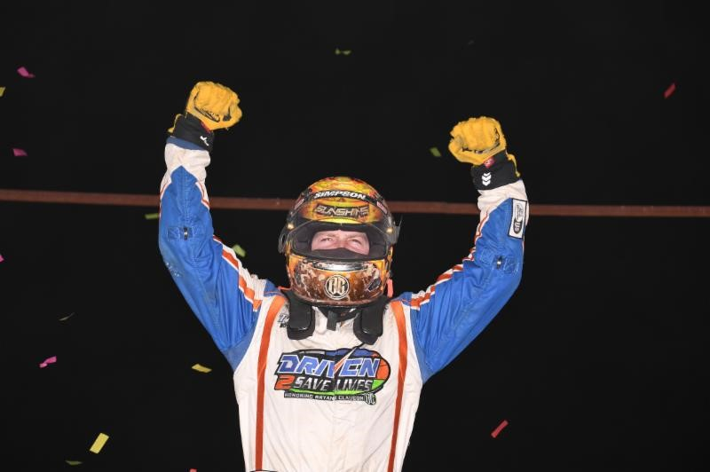 "COURTNEY CHECKS OUT FOR 2ND STRAIGHT ""WINTER DIRT GAMES"" WIN IN OCALA"