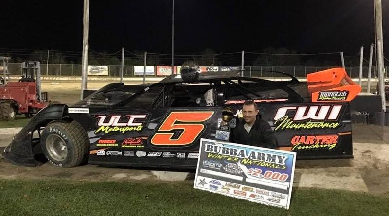 Whitener Breaks In New Race Car for NeSmith Late Model Win