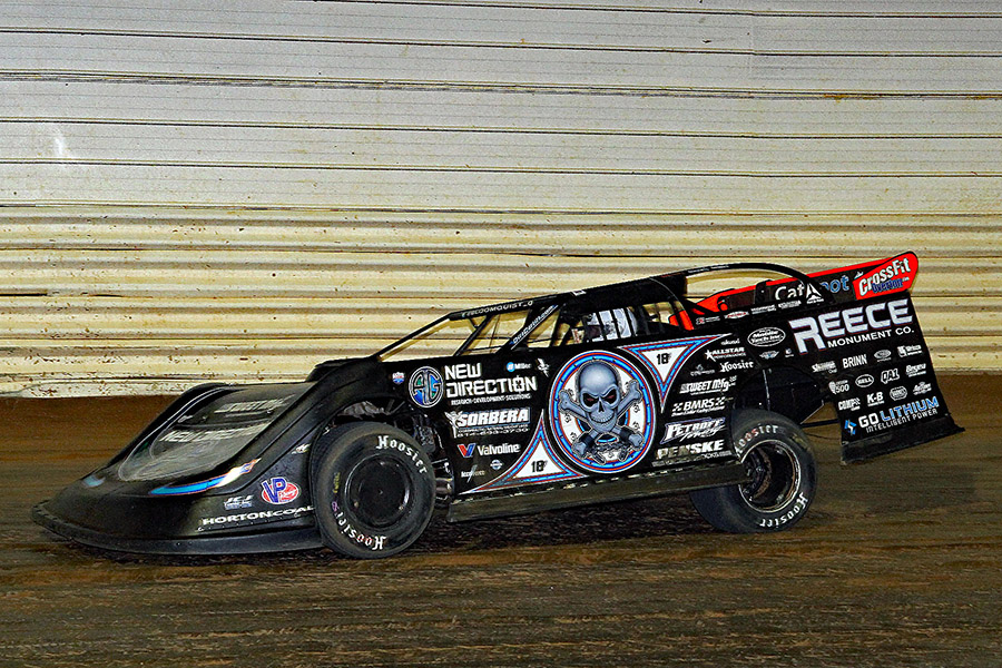 Jim Denhamer's photos from Port Royal Speedway's Lucas Oil Late Models - 4/22/18