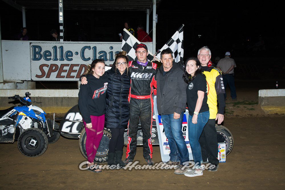 Klaasmeyer Claims Career-First in Knepper Memorial