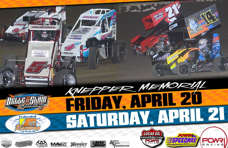 POWRi National Midgets and Micros Belle-Clair, POWRi National Midgets Then Take to I-55 this weekend!