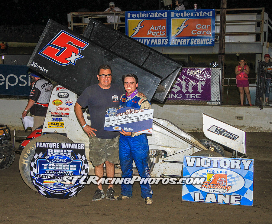 Justin Peck, Michael Long, Trey Harris, Gary Haynes & Andrew Dudash take wins at Federated Auto Parts Raceway at I-55!
