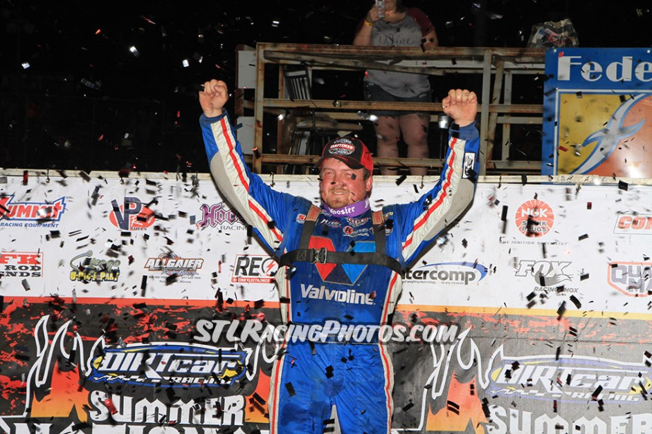Brandon Sheppard scores Federated Auto Parts Raceway at I-55