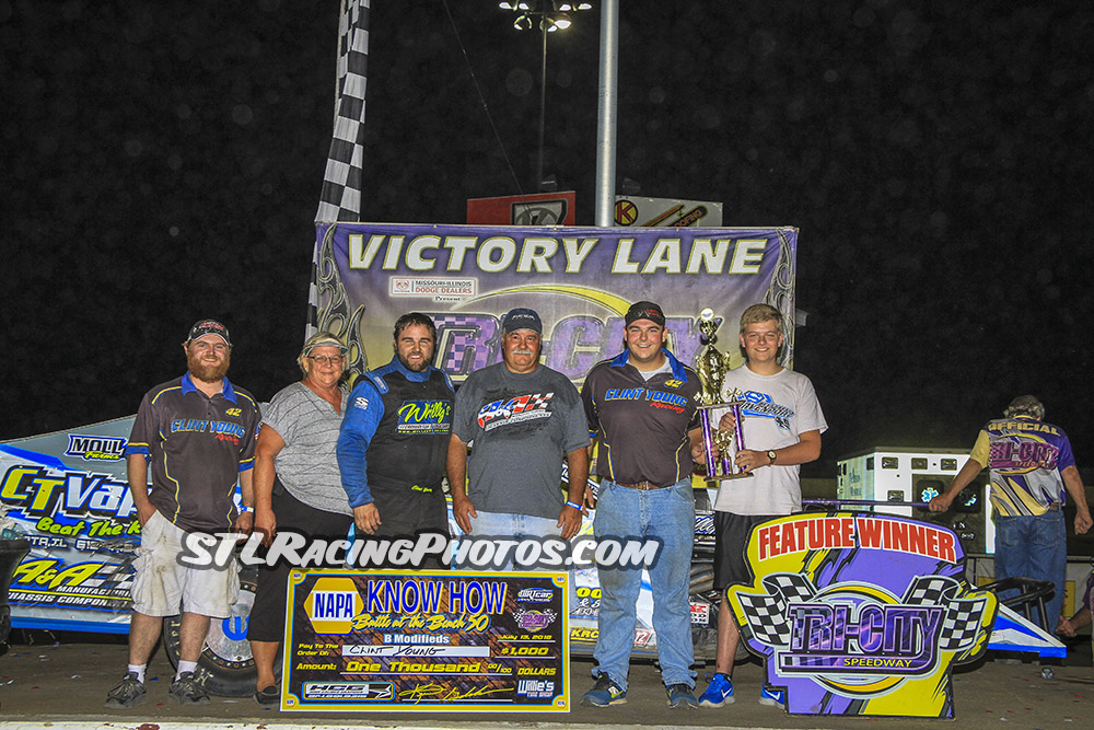 Lucas Lee & Clint Young take wins at Tri-City Speedway!
