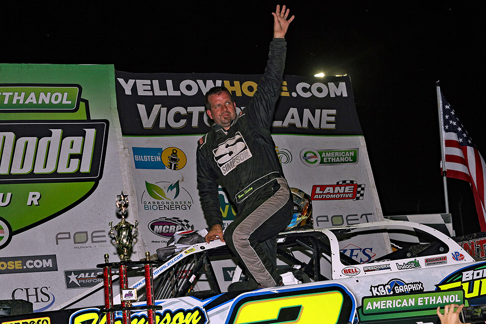 Brian Shirley gets first career Ethanol Series win at LaSalle Speedway!