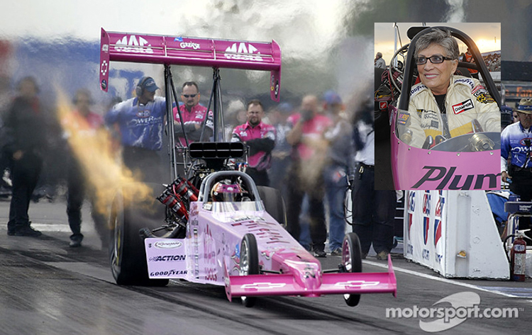 Meet drag racing legend Shirley Muldowney at this weekend's AAA Insurance NHRA Midwest Nationals at Gateway Motorsports Park