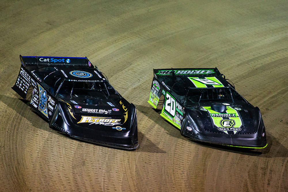 Scott Bloomquist Secures Fourth-Place Finish in 48th World 100
