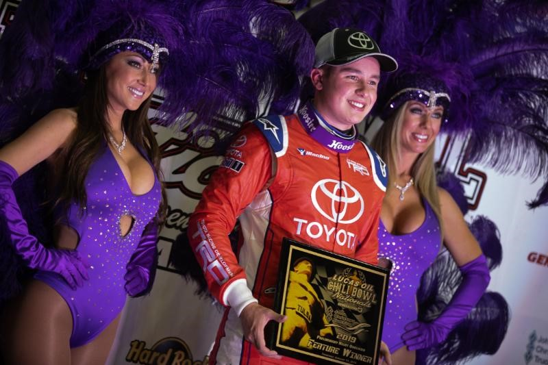 Christopher Bell Fends Off Late Race Challenge For John Christner Trucking Qualifying Night Triumph
