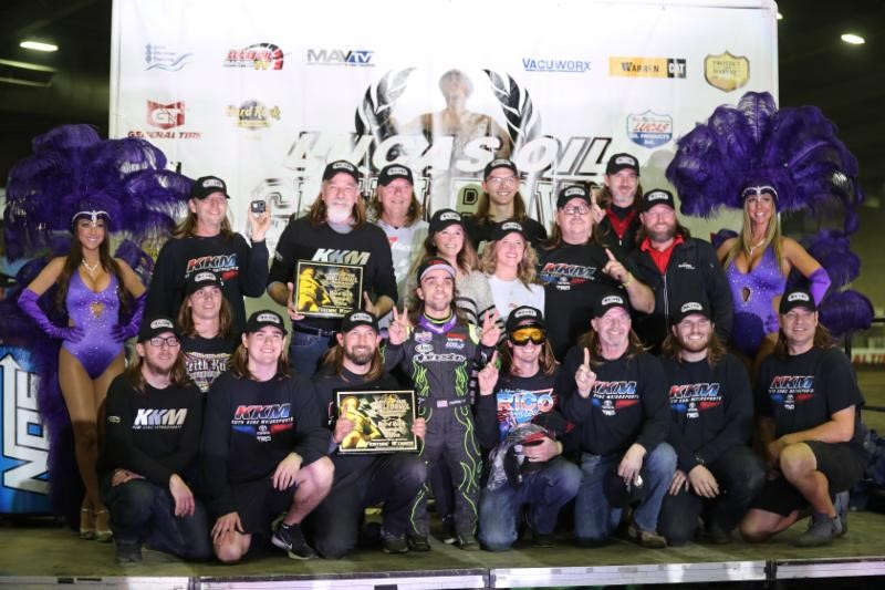 Rico Rocks It On Hard Rock Casino Qualifying Night at Chili Bowl