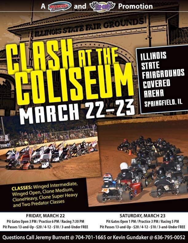 Clash at the Coliseum coming to Illinois State Fairgrounds!