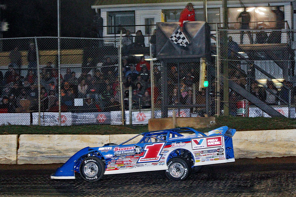 Brandon Sheppard wins fifth straight WoO Late Model Series event with Duck River win!