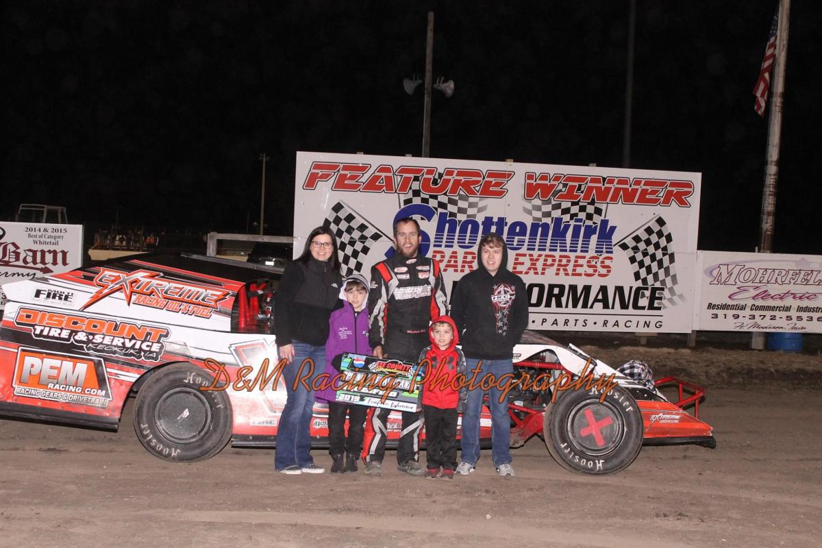 Michael Long takes win at Lee County Speedway!