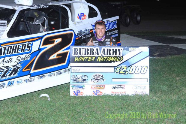 Bubba Raceway Park >> Nick Hoffman Takes Crate Late Model Win At Bubba Raceway