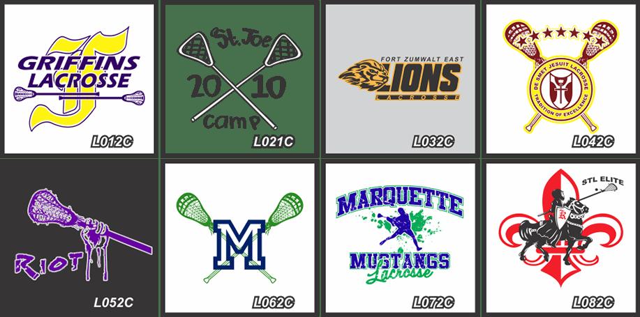 Custom Lacrosse Shirts Lacrosse Uniforms Lacrosse Logos STL Shirt Co