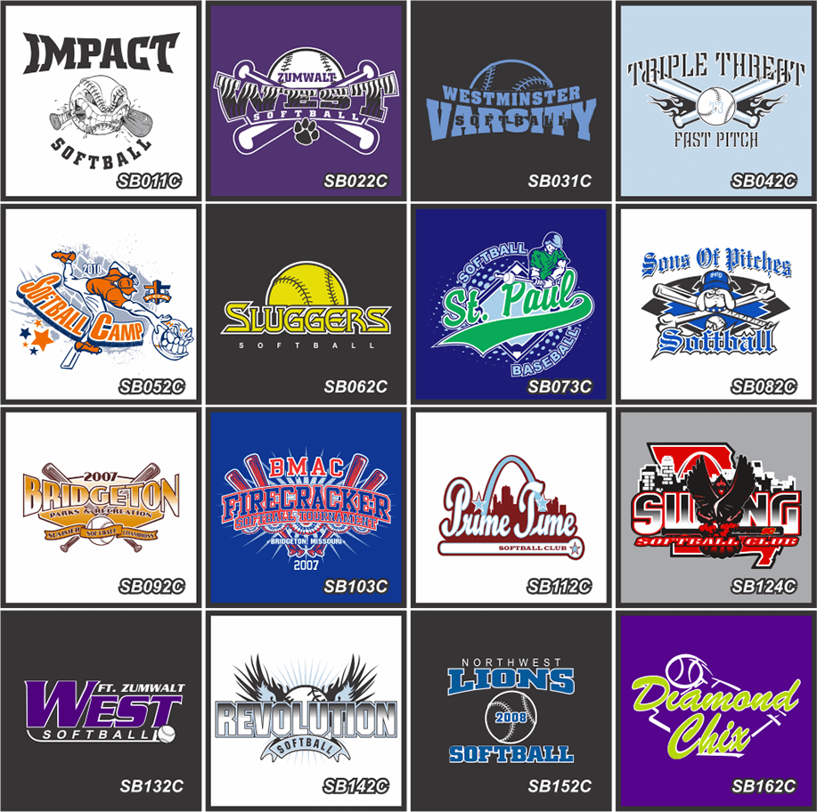 Softball Jersey Logo Design
