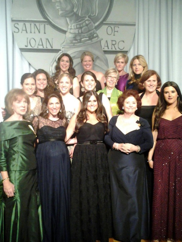 The Hanna's at the Medallion Ball