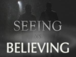 BELIEVING WITHOUT SEEING IS A BLESSING (John 20:29b)