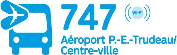 747 Aéroport P.E.-Trudeau/Centre-ville