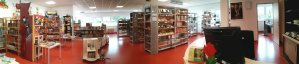 Die Bibliothek - Panorama vorne