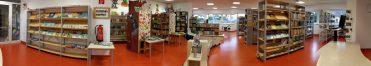 Die Bibliothek 2017 - Panorama vorne