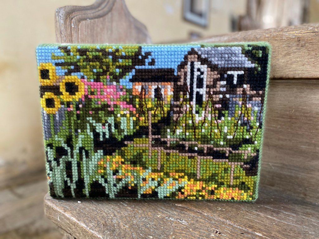 Allotment Donated & Sewn by Bev Plummer