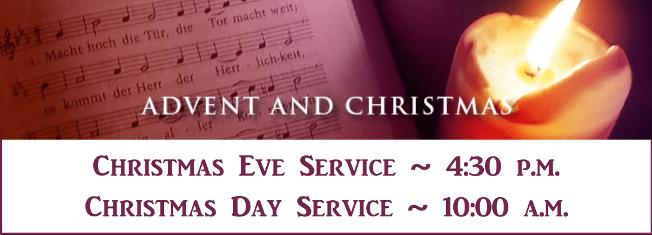 Xmas Service times