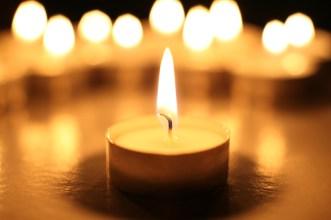 Image of a candle burning