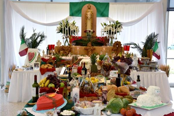 Saint Joseph Altar Displays A Deep Faith St Mary39s